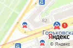 Схема проезда до компании МТС-банк в Нижнем Новгороде