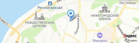 Автороуд на карте Нижнего Новгорода