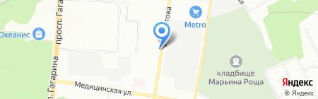 Электро Интел на карте Нижнего Новгорода