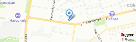 АкваСан-НН на карте Нижнего Новгорода