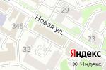 Схема проезда до компании ЦДС в Нижнем Новгороде