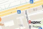 Схема проезда до компании Галактион в Нижнем Новгороде