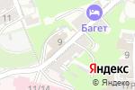 Схема проезда до компании PROGress в Нижнем Новгороде