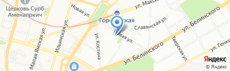 КБ Москоммерцбанк на карте Нижнего Новгорода