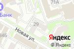 Схема проезда до компании Oikos в Нижнем Новгороде