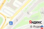 Схема проезда до компании Деньга в Нижнем Новгороде