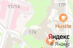 Схема проезда до компании Слова и вещи в Нижнем Новгороде