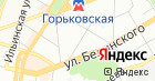Продуктовый магазин на ул. Короленко на карте