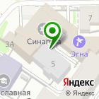 Местоположение компании ТОРГПРОЕКТ