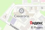 Схема проезда до компании Гамми в Нижнем Новгороде