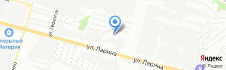 Рустранс на карте Нижнего Новгорода