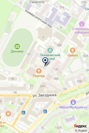 БУТИК БЕНЕТТОН на карте Нижнего Новгорода
