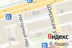 Схема проезда до компании УРАЛСИБ в Нижнем Новгороде