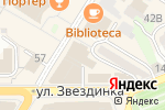 Схема проезда до компании Пуговка в Нижнем Новгороде
