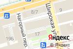 Схема проезда до компании ЭЛИТ ДИЗАЙН в Нижнем Новгороде