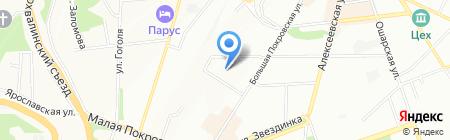 Мерилин на карте Нижнего Новгорода