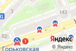 Схема проезда до компании Фортуна в Нижнем Новгороде