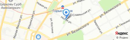 Монетная забава на карте Нижнего Новгорода