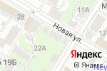 Схема проезда до компании Позитиff в Нижнем Новгороде
