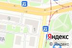 Схема проезда до компании Акконд в Нижнем Новгороде