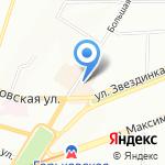 Клуб Ледянника-Банника на карте Нижнего Новгорода