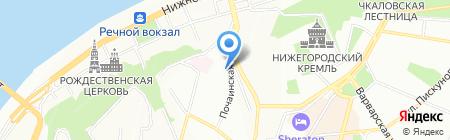 Винагропром на карте Нижнего Новгорода