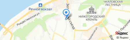 ТепЛайф на карте Нижнего Новгорода