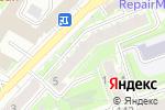 Схема проезда до компании Нижегородский дом бабочек в Нижнем Новгороде