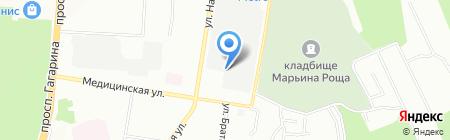 Эко Сервис на карте Нижнего Новгорода