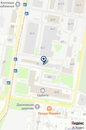 МАРКЕТИНГОВАЯ ФИРМА ГЕРМОБАЙЛ на карте Нижнего Новгорода