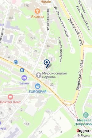 МЕБЕЛЬНЫЙ МАГАЗИН СТУДИЯ КУХНИ на карте Нижнего Новгорода