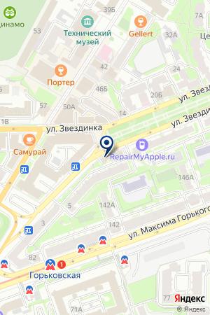 ИННОВАЦИОННО-НАУЧНЫЙ РЕСУРСНЫЙ ЦЕНТР ГОУНО КУЛЬТУРА на карте Нижнего Новгорода