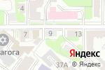Схема проезда до компании Студия Ольги Фадеевой в Нижнем Новгороде