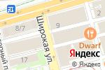 Схема проезда до компании Меримед в Нижнем Новгороде