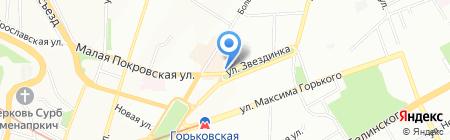 Olimp на карте Нижнего Новгорода