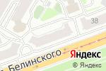 Схема проезда до компании КомFортель в Нижнем Новгороде