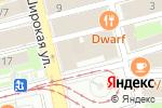 Схема проезда до компании Уайт Кофе в Нижнем Новгороде