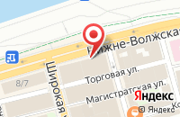 Схема проезда до компании Первопечатник-Нн в Нижнем Новгороде