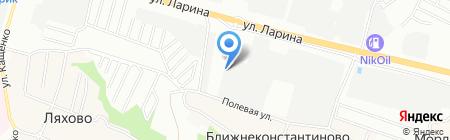 Семерка на карте Нижнего Новгорода