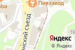 Схема проезда до компании Транском в Нижнем Новгороде
