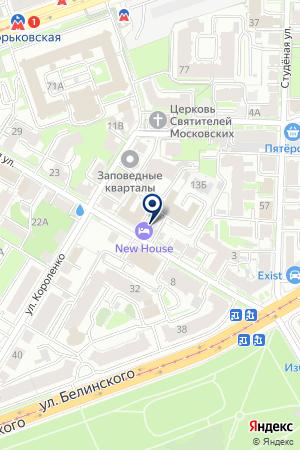 ПТФ ЛИК-Н на карте Нижнего Новгорода