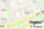 Схема проезда до компании Zefir в Нижнем Новгороде