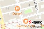 Схема проезда до компании АРТ-студия Наталии Лебедевой в Нижнем Новгороде