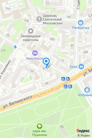 Дом 8 по ул. Новая на Яндекс.Картах
