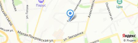 Первая Булочная на карте Нижнего Новгорода