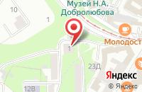 Схема проезда до компании Учебный Центр Торгово-Промышленной Палаты Нижегородской Области в Нижнем Новгороде