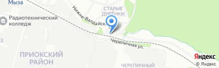 Техновент-НН на карте Нижнего Новгорода