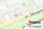 Схема проезда до компании PORTOFINO в Нижнем Новгороде