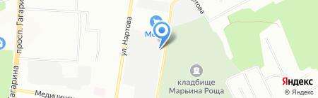 Асгард на карте Нижнего Новгорода