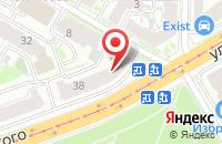 Схема проезда до компании Нижегородский издательский дом в Нижнем Новгороде